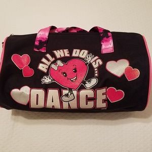 DANCE💃TOTE DUFFLE BAG